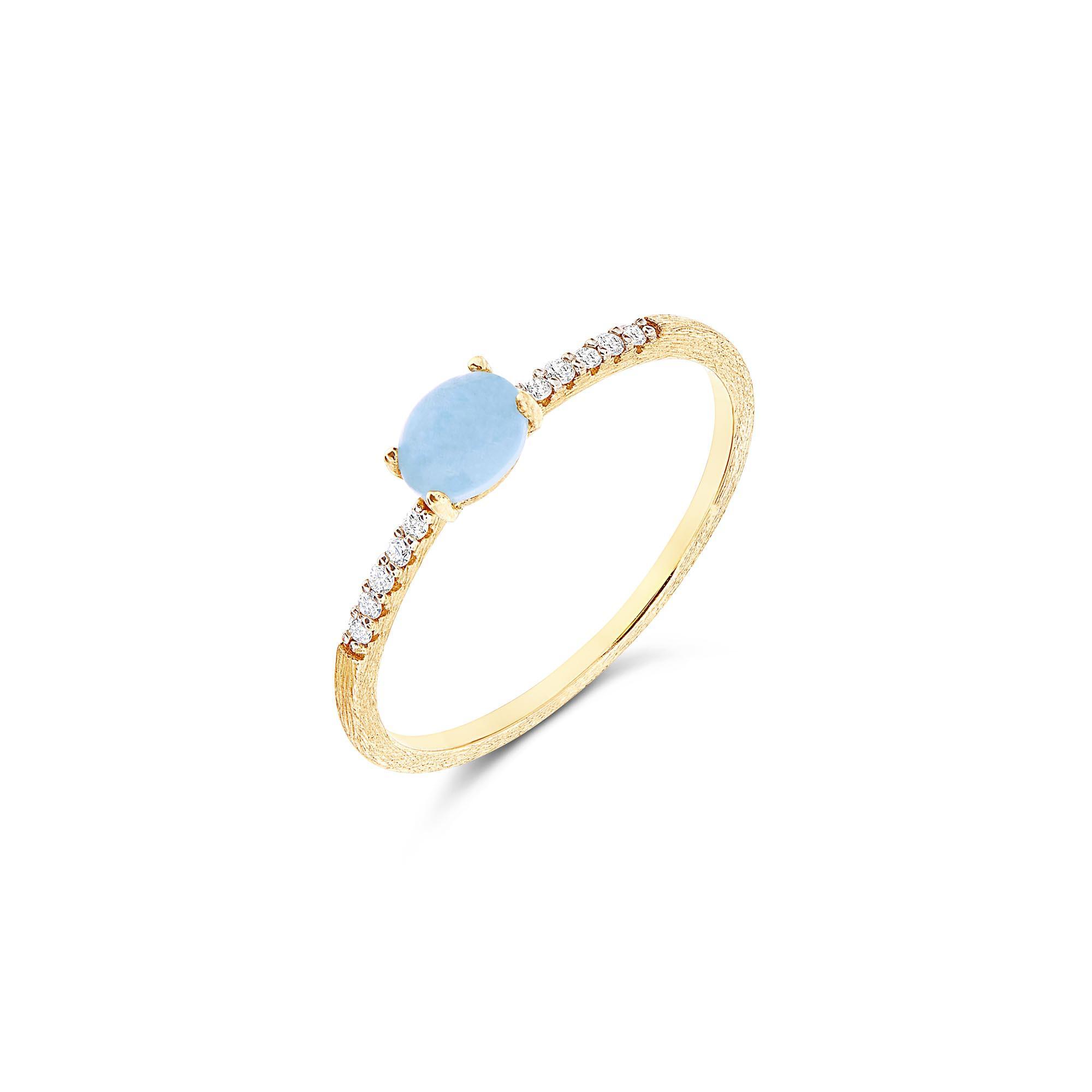 Nanis - Dancing Azure Ring