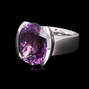 Richarzatelier - Amethyst Ring
