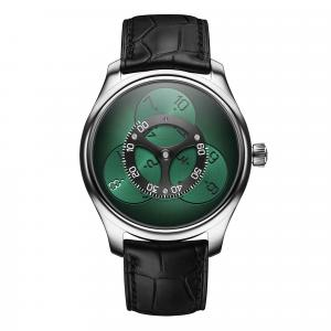 H. Moser & Cie - Endeavour Flying Hours Cosmic Green