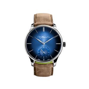 H. Moser & Cie - Venturer Small Seconds XL Weißgold Zifferblatt Funky Blue