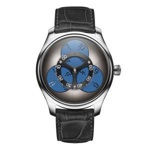 H. Moser & Cie - Endeavour Flying Hours Superluminova® Blue