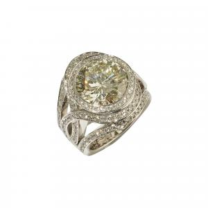 H. D. Krieger - H.D. Krieger - High Jewellery Brillantschmuck RIng