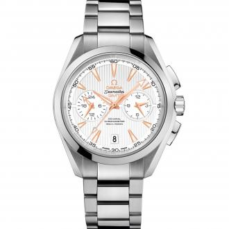 Seamaster Aqua Terra 150 m Co-Axial GMT Chronograph 43 mm