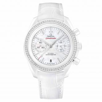 Speedmaster Moonwatch Co-Axial Chronograph White Side of the Moon