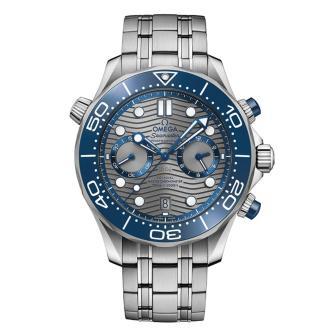 Seamaster Diver 300 M Co-Axial Master Chronometer Chronograph