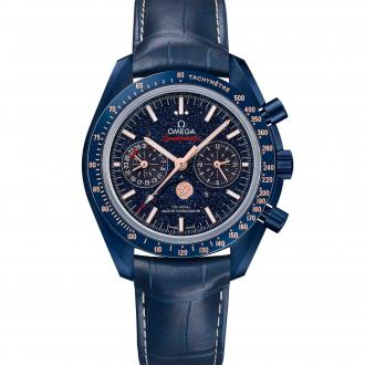 Speedmaster Moonwatch Co-Axial Master Chronometer Moonphase Chronograph Blue Side of the Moon