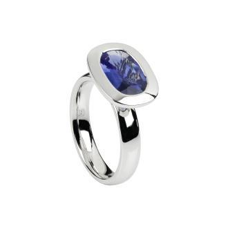 Ring Saphir oval