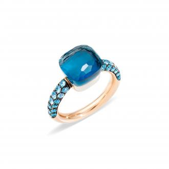 Nudo Deep Blue Ring