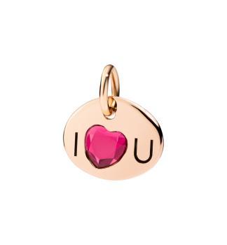 """Anhänger """"I Love U"""""""
