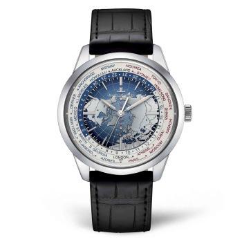 Geophysic® Universal Time Edelstahl