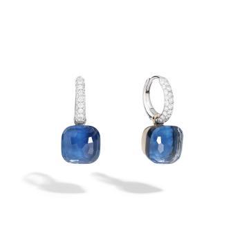 Nudo Deep Blue klassische Ohrhänger