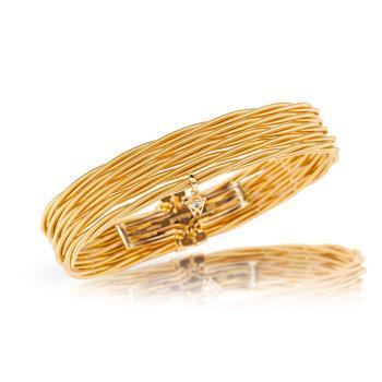 """""""Ein Tag am Meer"""" Armband Zartes Glück Gelbgold"""