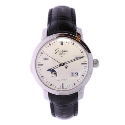 Weber Vintage-Uhren - Glashütte Original Senator Ewiger Kalender