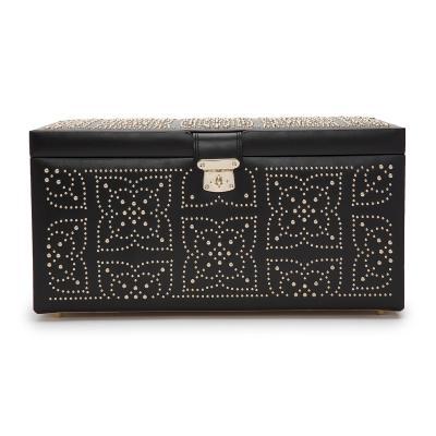 WOLF - Marrakesh Large Jewellery Box Black