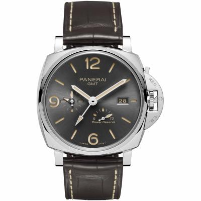 Panerai - Luminor Due 3 Days GMT Power Reserve Automatic Acciaio