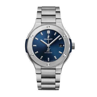 Hublot - Classic Fusion Blue Titanium Bracelet