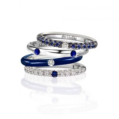 Adolfo Courrier - Collection PopJewels Blue Jeans