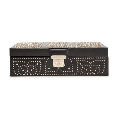 WOLF - Marrakesh Medium Jewellery Box Black