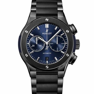 Hublot - Classic Fusion Chronograph Ceramic Blue Bracelet