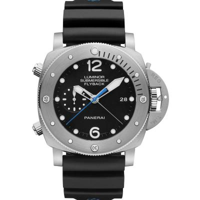 Panerai - LUMINOR SUBMERSIBLE 1950 3 DAYS CHRONO FLYBACK AUTOMATIC TITANIO – 47 MM