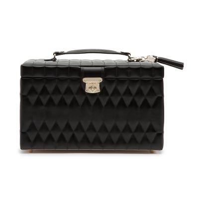 WOLF - Caroline Large Jewellery Box Black
