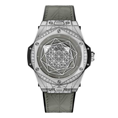 Hublot - Hublot - Big Bang One Click Sang Bleu Steel Grey Diamonds
