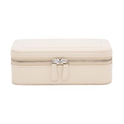 WOLF - Sophia Travel  Zip Case Ivory