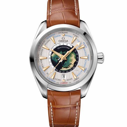 Seamaster Aqua Terra 150 M Co-Axial Master Chronometer GMT World Timer