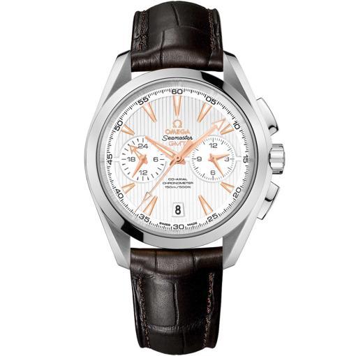 Seamaster Aqua Terra 150 m Co-Axial GMT Chronograph 43 mm