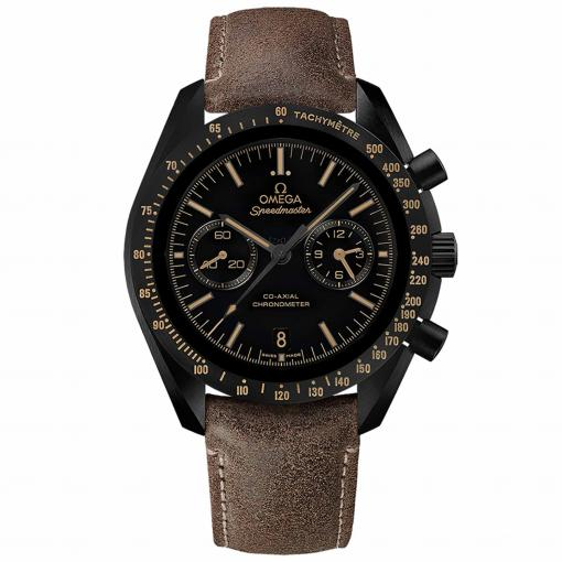 """Speedmaster Moonwatch """"Dark Side of the Moon"""" """"Vintage-Look"""" Co-Axial Chronograph 44,25 mm"""