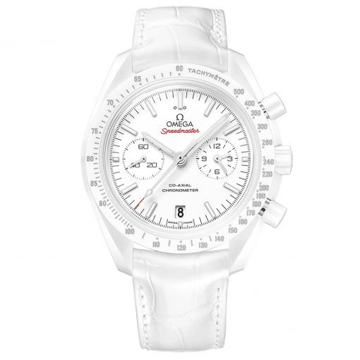 """Speedmaster Moonwatch """"White Side of the Moon"""" Co-Axial Chronograph 44,25 mm"""