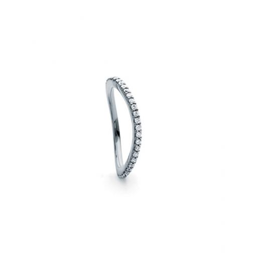 Love Band Ring Curved