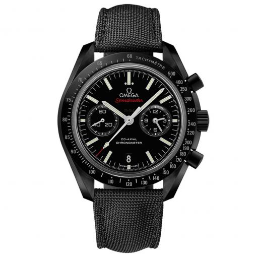 """Speedmaster Moonwatch """"Dark Side of the Moon"""" Co-Axial Chronograph 44,25 mm"""