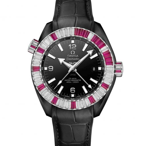 Seamaster Planet Ocean 600 M Co-Axial Master Chronometer GMT Deep Black