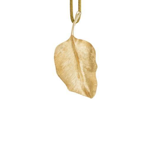 Leaves Anhänger Round