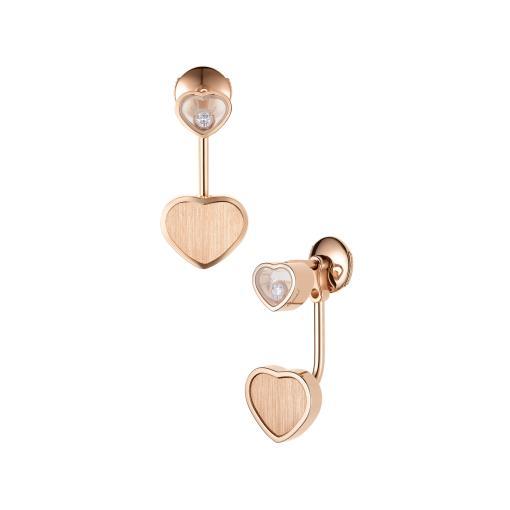 Happy Hearts Golden Hearts Ohrhänger
