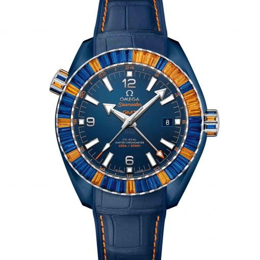 Seamaster Planet Ocean 600 M Co-Axial Master Chronometer GMT Big Blue