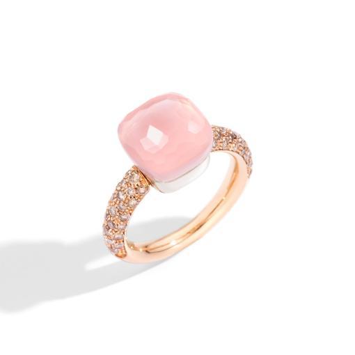 Nudo Rosenquarz Classic Ring