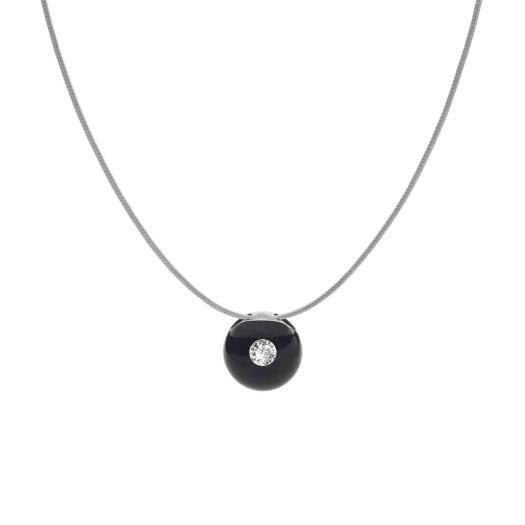 Schmuckwerk - Halskette Glasklar