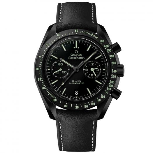 """Omega - Speedmaster Moonwatch """"Dark Side of the Moon"""" """"Pitch Black"""" Co-Axial Chronograph 44,25 mm"""