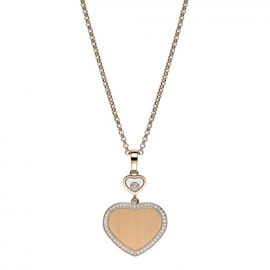 Chopard - Happy Hearts Golden Hearts Anhänger