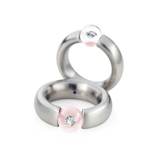 Schmuckwerk - Ring Glasklar