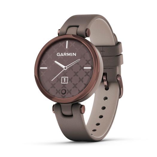 Garmin - Lily™ Taupe/Mokka