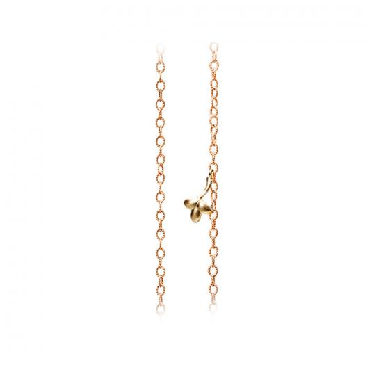 Ole Lynggaard Copenhagen - Lotus Halskette Twisted Anchor Chain Thin