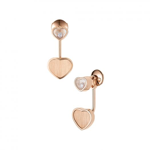Chopard - Happy Hearts Golden Hearts Ohrhänger