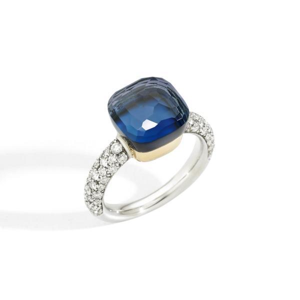 Pomellato - Nudo Deep Blue klassischer Ring