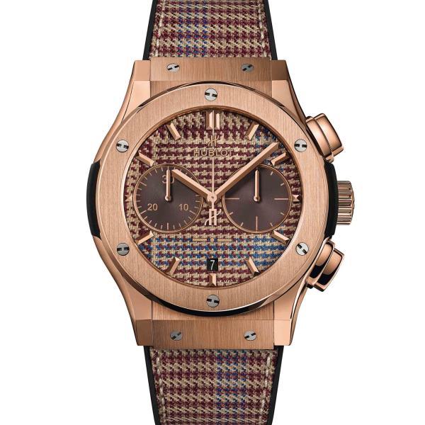 Hublot - Classic Fusion Chronograph Italia Independent King Gold