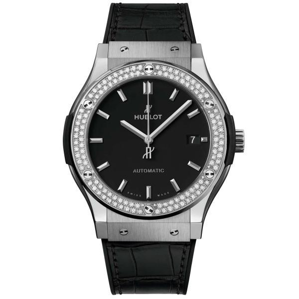 Hublot - Classic Fusion Titanium Diamonds
