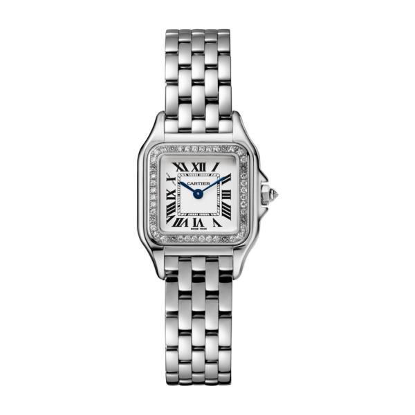 Cartier - Panthère de Weißgold SM mit Diamantlünette