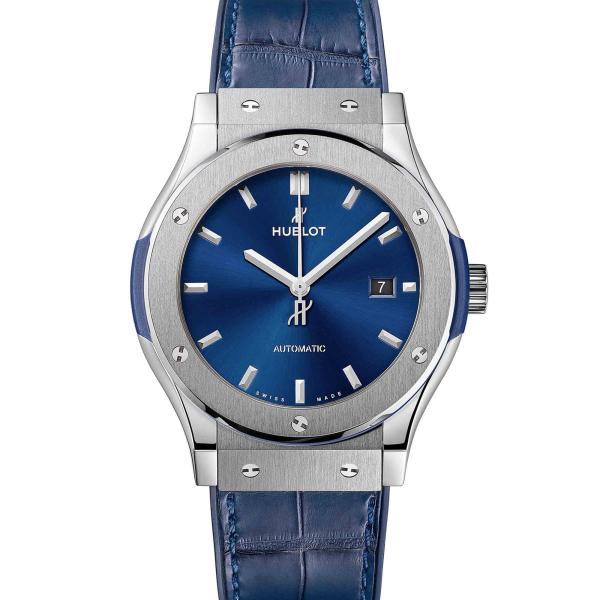 Hublot - Classic Fusion Blue Titanium